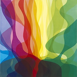 Thomas Sæverud: Spekter, 2012, 120 x 120 cm