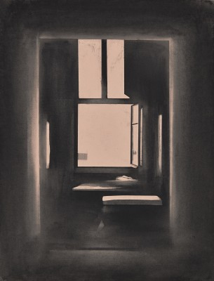 Ulf Nilsen: The Open Window II, 2014, 65 x 50 cm